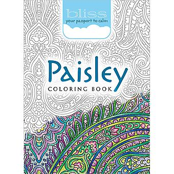 Dover Publications-Bliss Coloring: Paisley