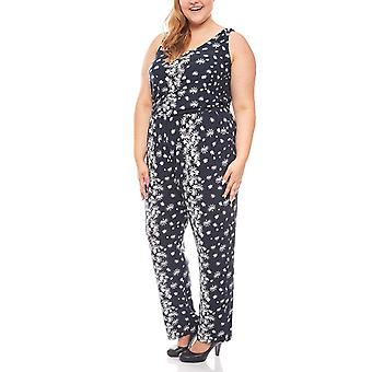 floral jumpsuit plus size black of Joe Browns