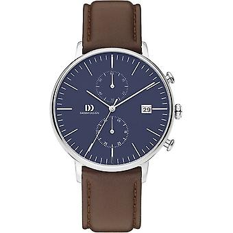 Danish design mens watch TIDLØS COLLECTION chronograph IQ42Q975