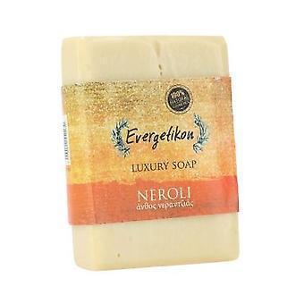 Natural, high quality, Cretan extra virgin olive oil Neroli soap 130gr.