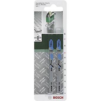 Bosch Accessories Jigsaw blade HSS, T 118 A 91 mm,2 pc(s) Saw Blade