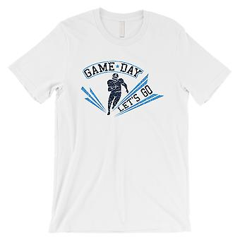 GAME DAY for Tennessee T-Shirt Mens White Graphic Tee Gift For Him