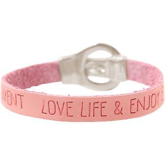 Women - bracelet - WISHES - Pink - Pink - belt - buckle - magnetic closure