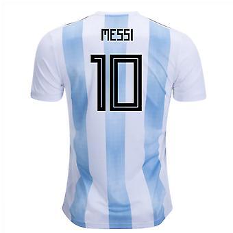 2018-19 Argentina Home Shirt (Messi 10) - Kids