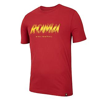 2018-2019 Roma Nike Trocknen Vorsaison Tee (purpurrot)