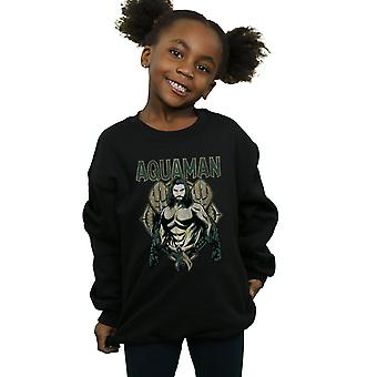 DC Comics Girls Aquaman Scales Sweatshirt