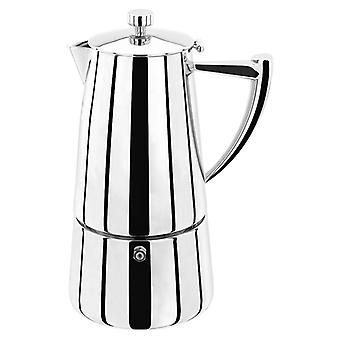 Stellar Art Deco, 6 Cup Espresso Maker, 375ml