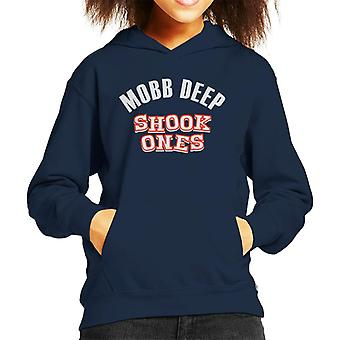 Mobb Deep Shook Ones Song Title Kid's Hooded Sweatshirt