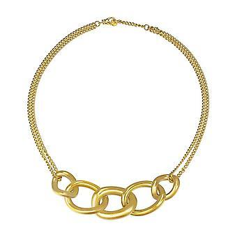 Joop mujer cadena collar dorado de acero inoxidable enlaces JPNL10581B450