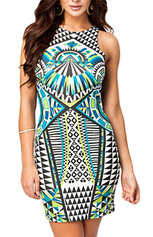 Waooh - Short dress graphic pattern Reas