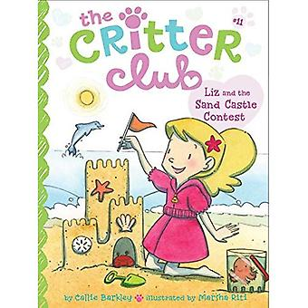 Liz et le concours de château de sable (Critter Club)