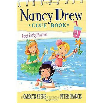Pool Party puzzelaar (Nancy Drew Clue boek)