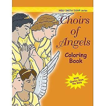 Körer av änglar: målarbok (heliga Imitation)