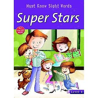 Super Stars (Must Know Sight Words)