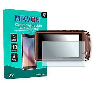 Canon IXY 31S Screen Protector - Mikvon Clear (Retail Package with accessories)