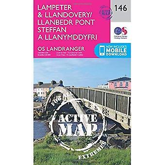 Lampeter & Llandovery (OS Landranger Map)