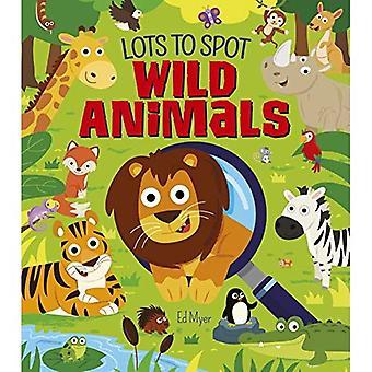 Beaucoup de Spot: animaux sauvages