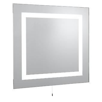 Świeci 4 światła fluorescencyjnego łazienka Mirror - Searchlight 8510