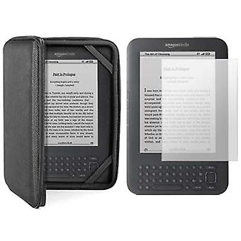 DIGIFLEX Kindle Case Black Hard Case Cover & Screen Protector for Amazon Kindle 3 Now Save 30% with Promotional Code