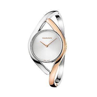 Calvin Klein women's Quartz analoge horloge met stalen band K8U2MB16