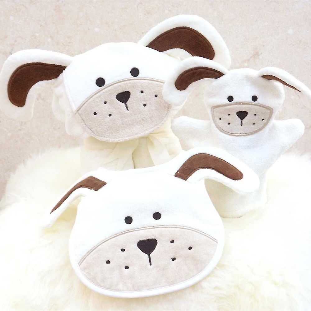 Long Eared Puppy Baby Towel Gift Set