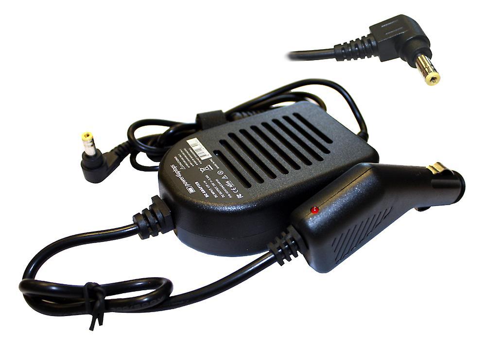 Fujitsu Siemens FMV-Biblo NB75K ordinateur portable Compatible alimentation DC adaptateur chargeur de voiture