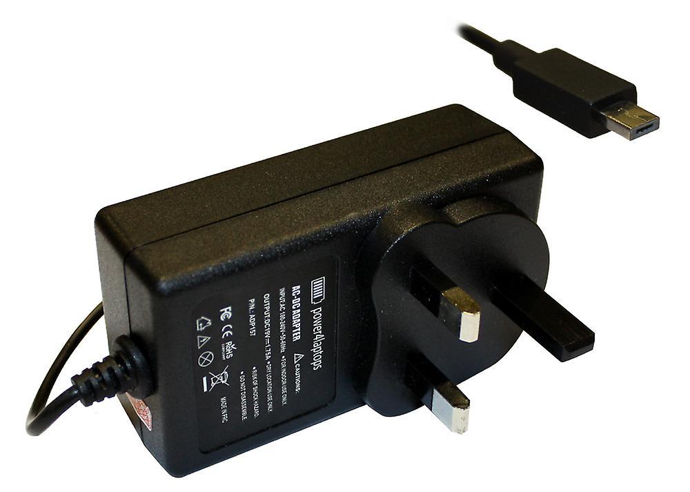 Asus E200SA-FD0011D compatible ordinateur portable aliHommestation AC adaptateur chargeur avec construit au Royaume-Uni plug