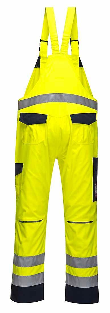 Portwest - 100% Cotton Reversible Vest jaune Navy 3 XL