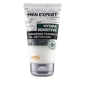 L'oreal Men Expert Hydra limpiador sensible espumante gel-150ml/5oz