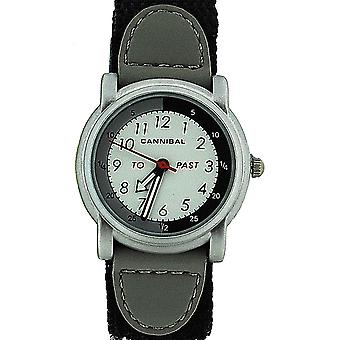 Cannibal Active Analogue Time Teacher Boys Easy Fasten Strap Watch CT203-03