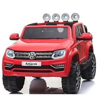 VW Volkswagen Electric Ride On Car - Licensed VW Amarok Car For Kids - 12V - Red