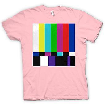 المرأة تي شيرت-ريترو الثمانينات شاشة التلفزيون التقنية