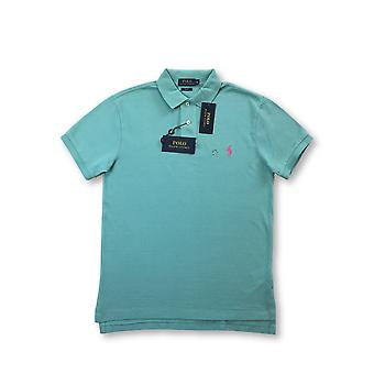 Ralph Lauren Polo sli fit polo in turquoise