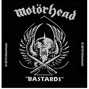 Motorhead Bastards iron-on / sew-on patch 95mm x 95mm (ro)