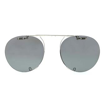 Oliver Peoples Gregory Peck Clip-On OV5186C 5036 Silver/Polarised Grey