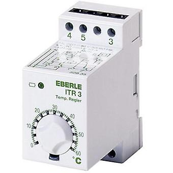 Flush mount thermostat DIN rail Eberle ITR-3 528 300