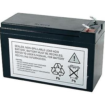 UPS battery Conrad energy replaces original battery RBC17 Suitable for (misc.) 515-970, BE650BB, BE650BB-CN, BE650G, BE6