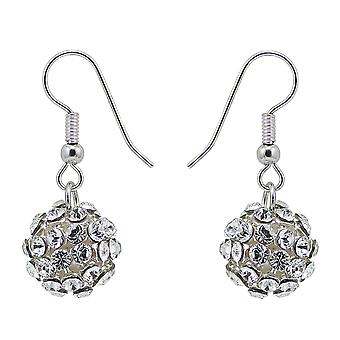 Crystal Mesh Ball Earrings EMB112.10