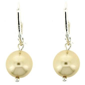 Kleshna Classic Ivory Pearl Drop Earrings