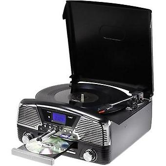USB turntable Renkforce MT-35 Black