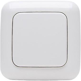 Free Control Wireless wall-mounted switch 2-channel Arctic white
