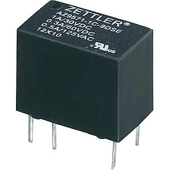 PCB relays 3 Vdc 1 A 1 change-over Zettler Electronics 1 pc(s)