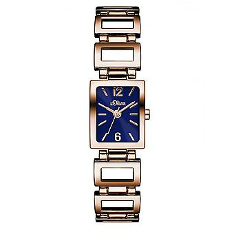 s.Oliver Women Watch SO-3067-MQ Rosé gold watch