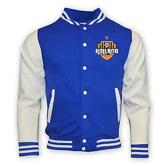 Holland College Baseball Jacket (blue)