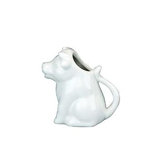 Jug Cow Design Ceramic Cream Can Be Used for Serving Milk Cream