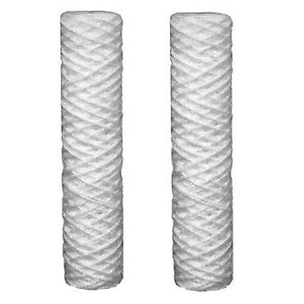 2 x Sediment 5 Micron Water Filter Cartridges fits all 10