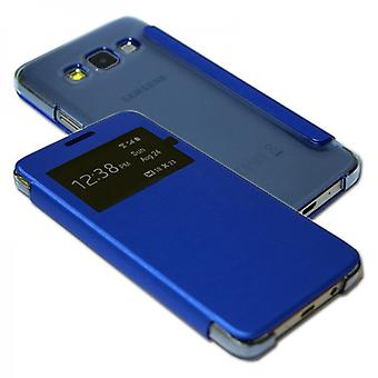 Smart Cover pour Samsung Galaxy Blue Window A3 A300 A300F