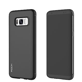 Oprindelige ROCK skygge smart cover sort for Samsung Galaxy S8 G950 G950F