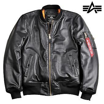 Alpha industries MA-1 jacket VF PM leather