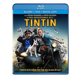 Adventures of Tintin [BLU-RAY] USA import